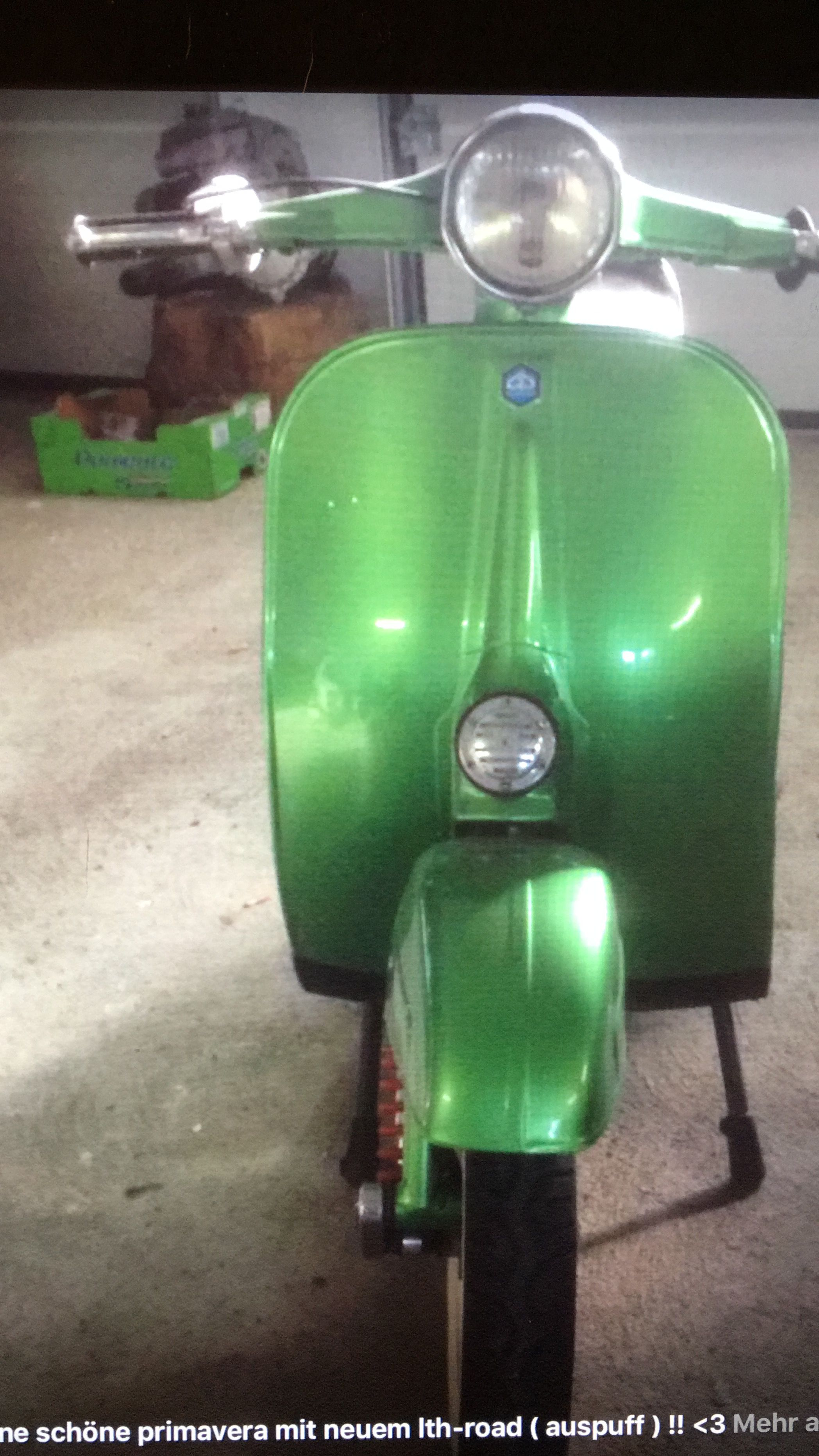 Vespa Primavera Motorroller Roller