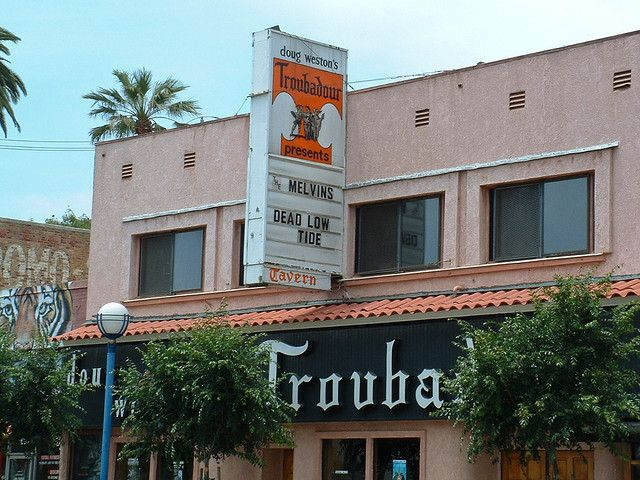 The Troubadour West Hollywood Ca Best Club West Hollywood Los Angeles Bars