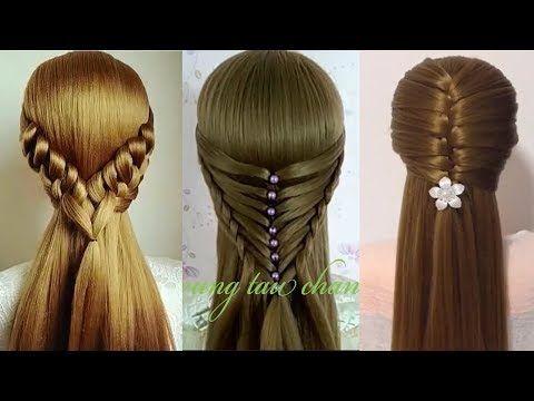 Como hacer peinados faciles y bonitos trenzas faciles y - Peinados para ninas faciles de hacer ...