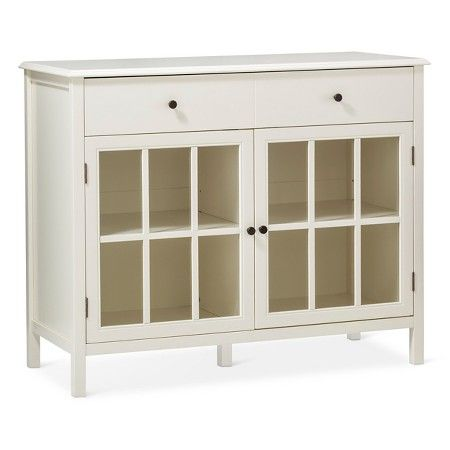 Windham 2 Door Accent Buffet, Cabinet with Shelves - Threshold ...