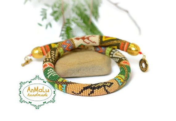 African Style  Beadwork  African adventure  Bead by AnmaluStory