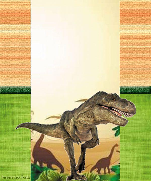 Dinossauros Reais Kit Digital Gratuito Festa Infantil