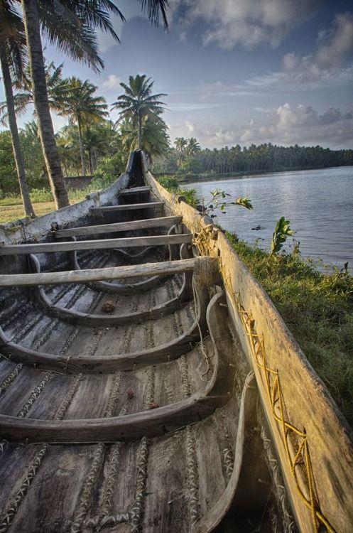 Kappil lake . Kerala