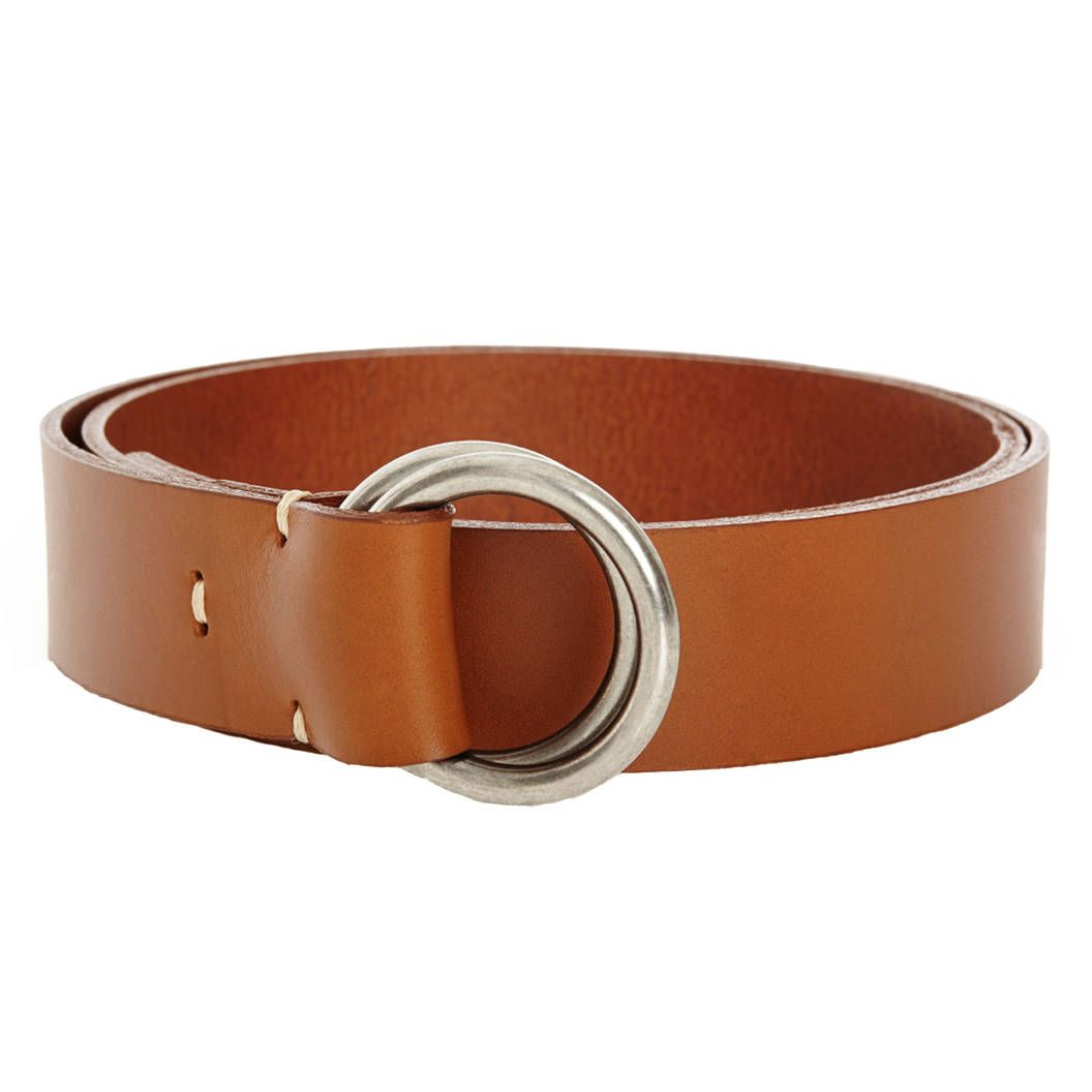 We like sturdy builds of classic style, Double-Ring Belt