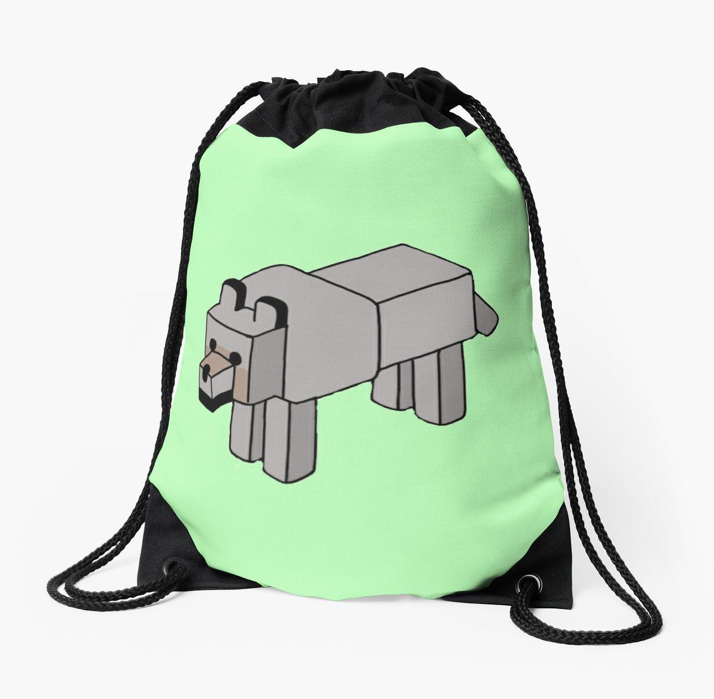 Minecraft Wolf Design