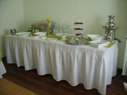 Manteles para eventos rosario venta o alquiler tel for Alquiler decoracion bodas