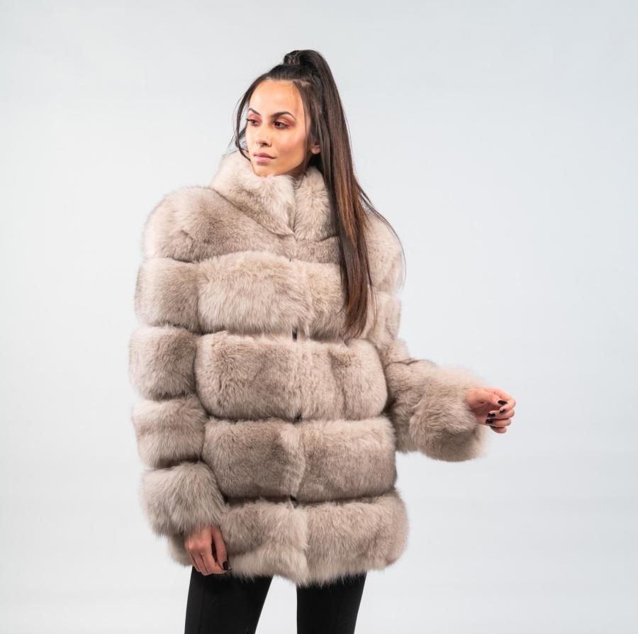 8bc0e82788 Nude Fox Fur Jacket #fox #fur #jacket #real #style #realfur #naturalfur  #elegant #haute #luxury#chic #outfit #women #classy #online #store