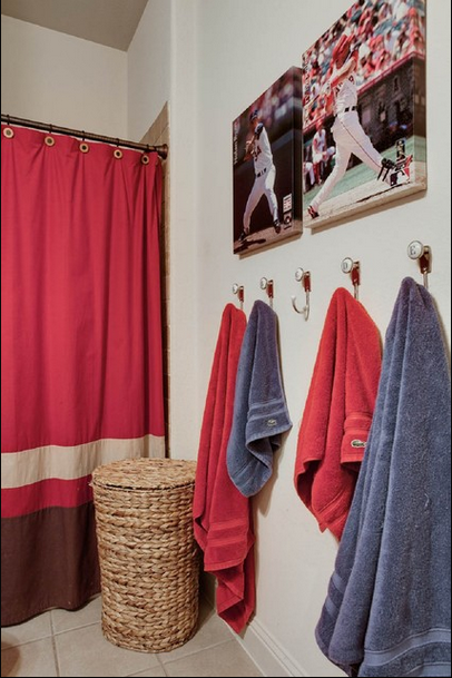 Extreme Interior Design Sports Meet Bathroom Decor In