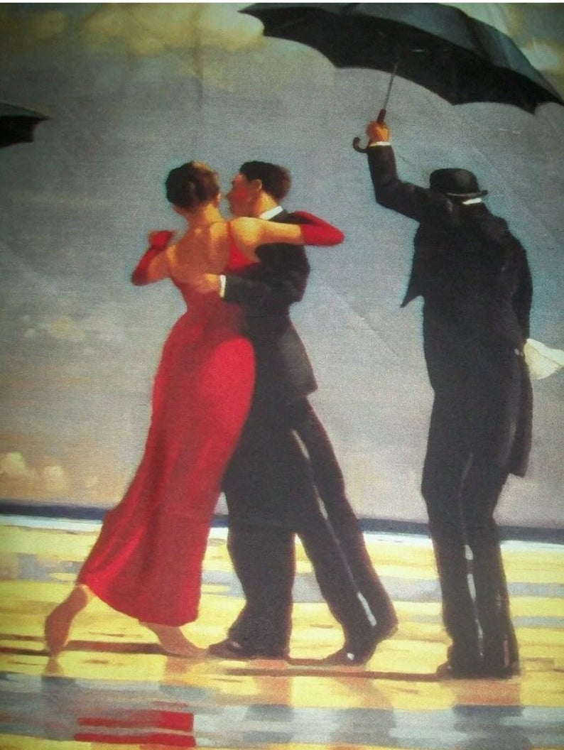 VETTRIANO Square Silk Scarf-The Singing Butler