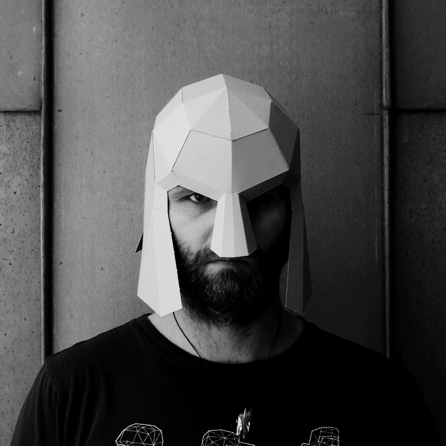 Spartan Helmet - Make your own using a simple PDF download by ...