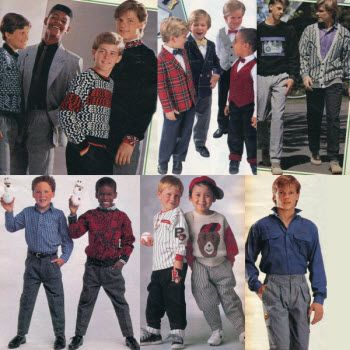 Épinglé sur 80' looks80s Clothes For Boys