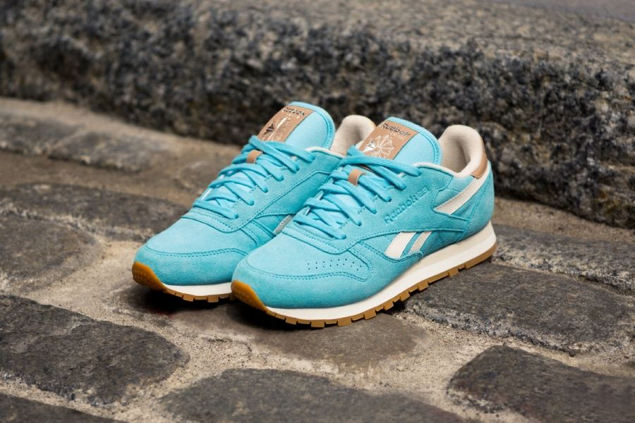 reebok classic leather azul 95e663c3a