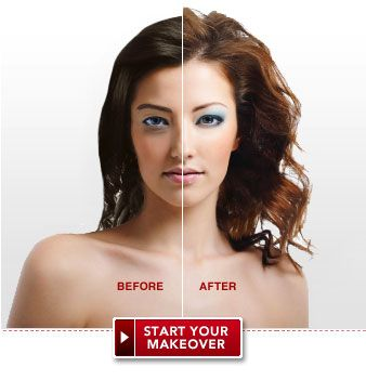 Virtual Makeover - Free Instant Makeover at Total Beauty | Dramatic ...