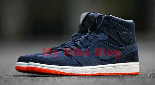 fcf9ac6a11b ireland new look of nike shoes air jordan 1 in mid nouveau navy orange  d5f95 082f6