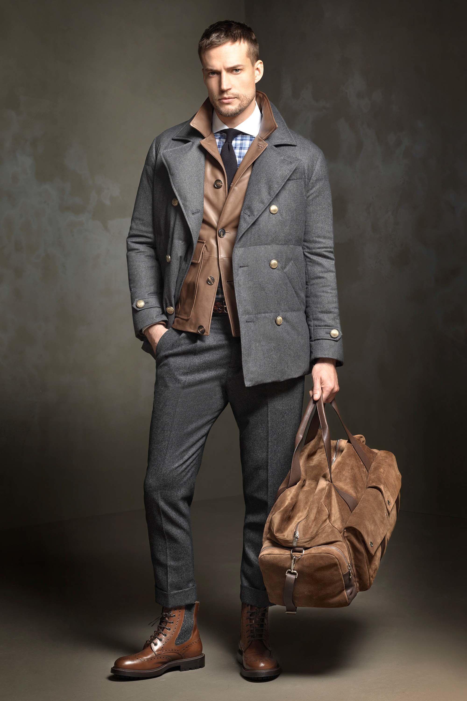 Brunello cucinelli fall menswear latest fashion trends for