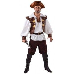 Homme Déco Corsaire Pirate amp; Déguisements Déguisement Luxe qvEwxS