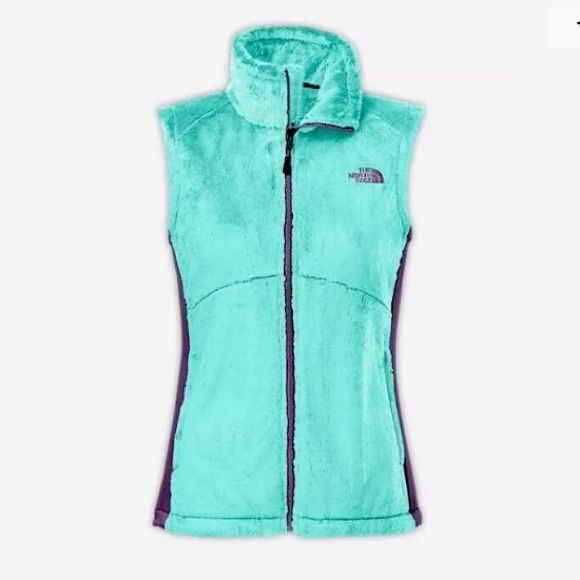 North Face Womens Osito Vest C664 Mint Blue, (teal) Size Small NEW with tags!! North Face Jackets & Coats Vests