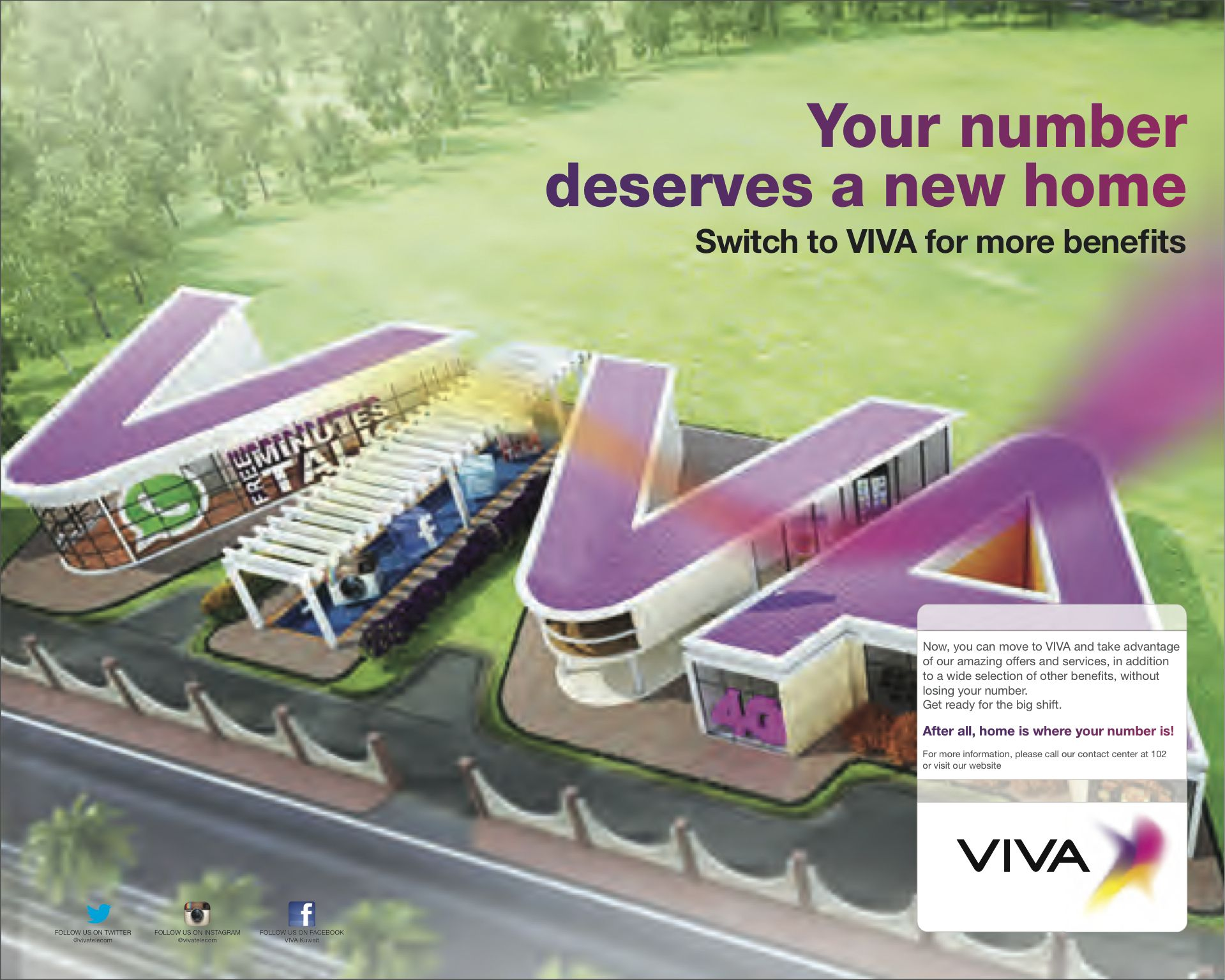 VIVA announced today that it is now officially open and is