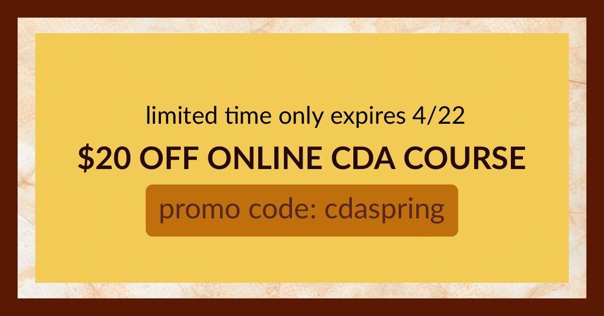 Cda training course sale career advancement interactive