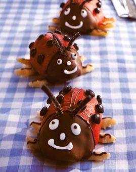 Marienkafer Rezept Lady Bug U A Deko Ideen Kuchen Fur Kinder