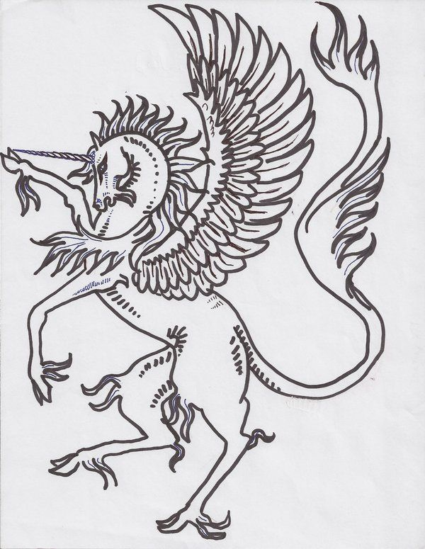 sca heraldry clipart pt 2 by pegacorna2 on deviantart horse coloring pages heraldry mythical creatures mythical creatures