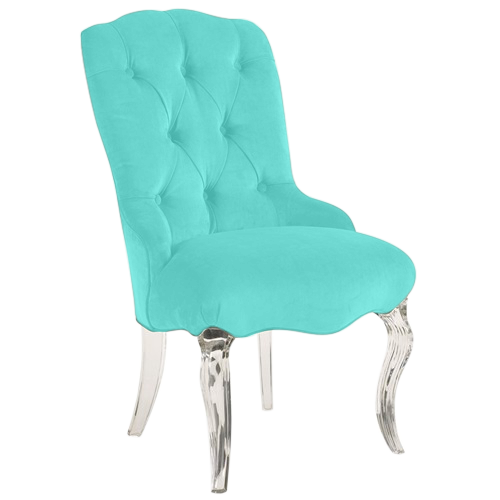 Tiffani Tufted Side Chair Side Chairs Chair Diy Home Crafts