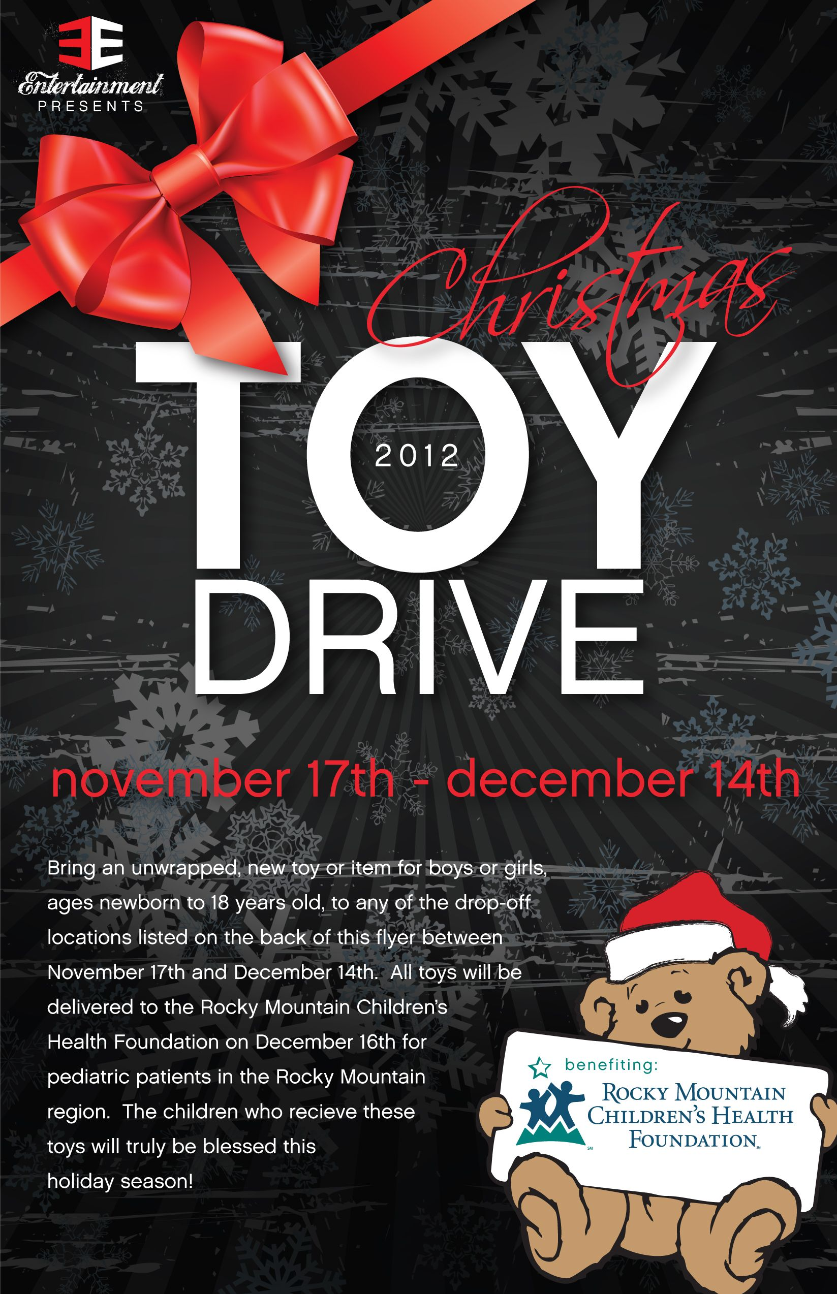 toy drive flyer - Google Search | COLE'S HOPE NON- PROFIT ...