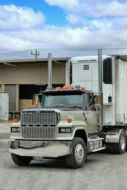 Ford Ltl 9000 In Australia Big Trucks Big Rig Trucks Ford Trucks