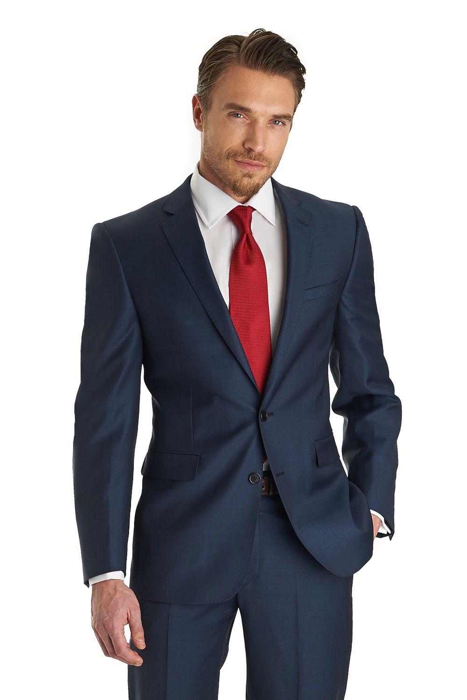 9f0e615b7b8 Lanificio F.lli Cerruti Dal 1881 Cloth Tailored Fit Indigo Jacket in ...
