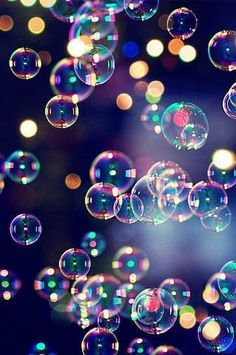 Bokeh Wallpaper Bubbles Backgrounds Phone Black Beautiful