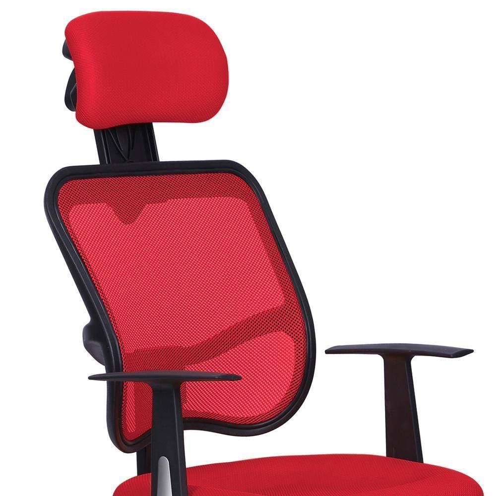 Szs Caliente Rojo Computadora De Escritorio De Oficina De Malla  # Muebles Ergonomicos Para Computadora