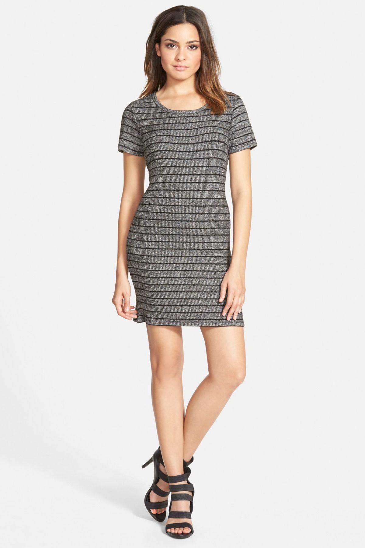 Stripe Knit Dress Juniors Striped Knit Dress Striped Knit Junior Dresses [ 1800 x 1200 Pixel ]