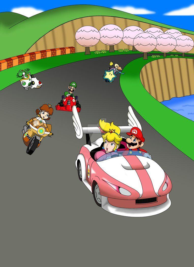 Mario Circuit Mario Kart 7 By Https Www Deviantart Com Famousmari5 On Deviantart Mario Kart 7 Mario And Luigi Mario Kart Wii