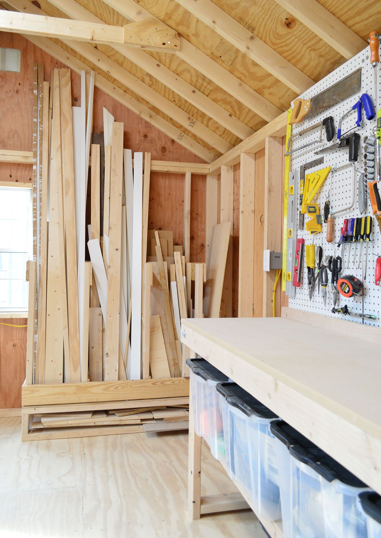 4 Shed Storage Ideas For Tons Of Added Function | DIY Ideas | Diy