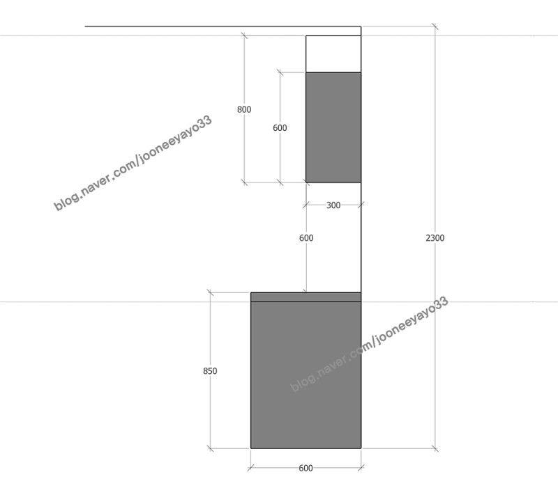 싱크대 상부장 하부장 높이 계산방법 네이버 블로그 2020 싱크대 인테리어