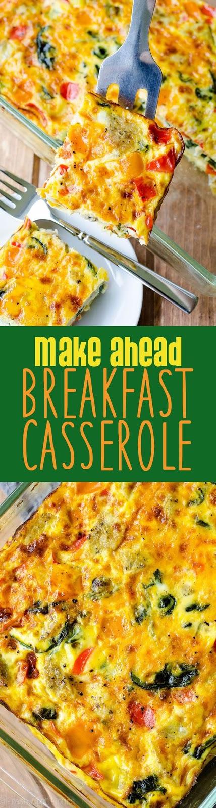 Photo of Make Ahead Meal: Breakfast Casserole – Hulubalang Recipes