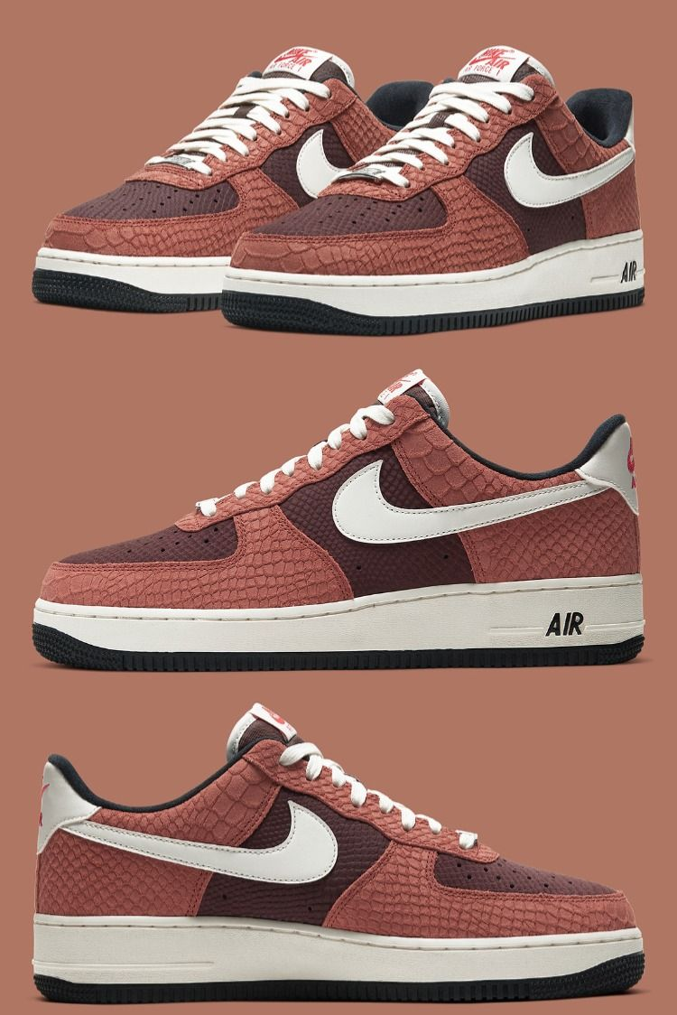 The classic Nike Air Force 1 has been drawn up with a wide