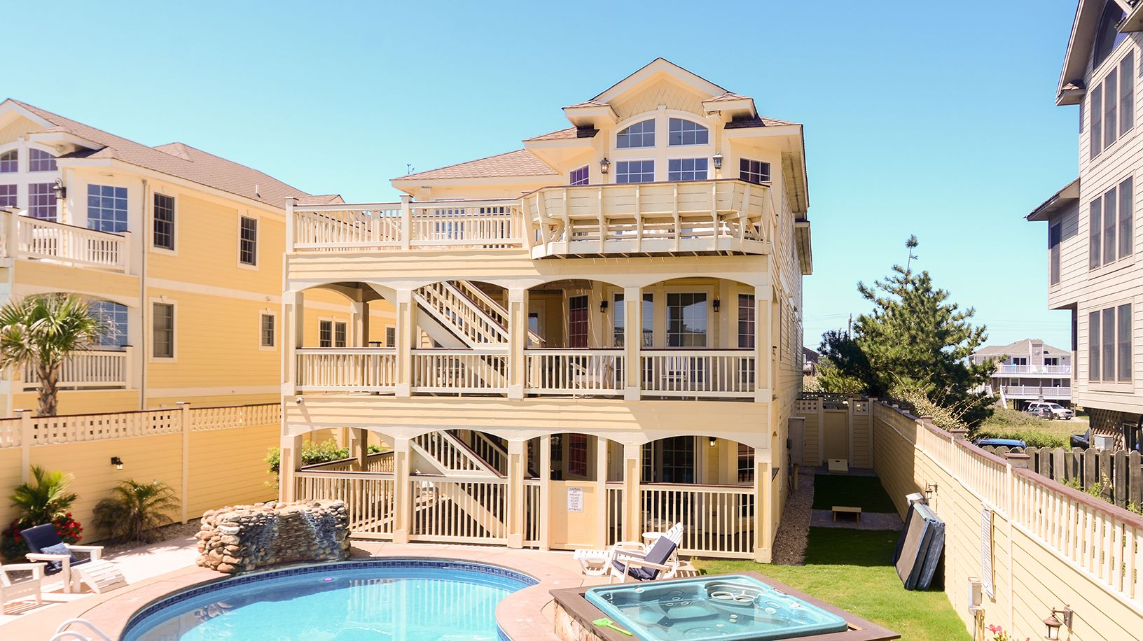 Paradise iv oceanfront vacation rentals obx vacation