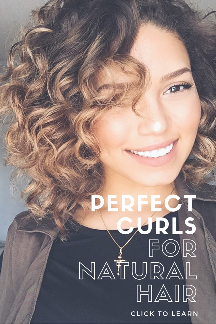Perfect Curls for natural hair. Click to learn how to ...