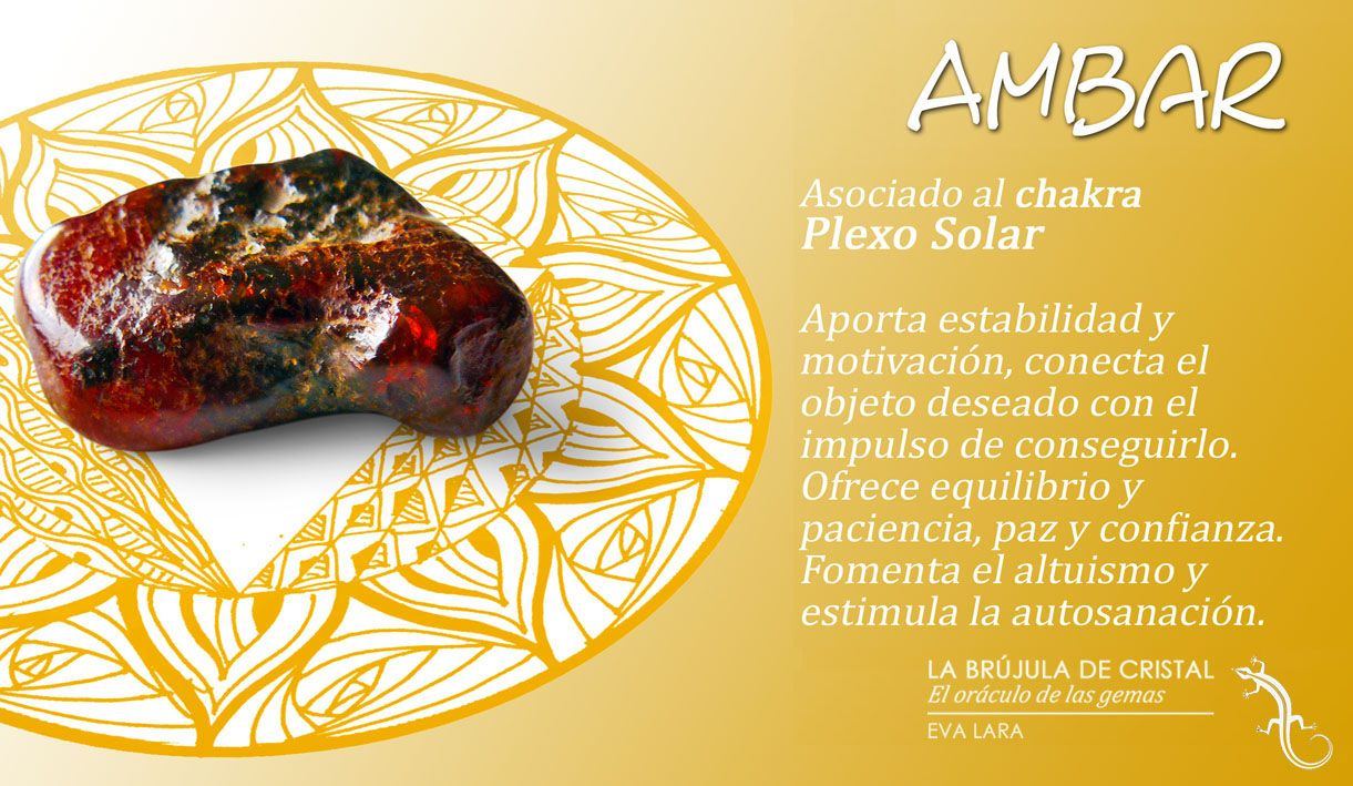 Ambar chakra plexo solar la br jula de cristal eva lara - Propiedades piedras naturales ...