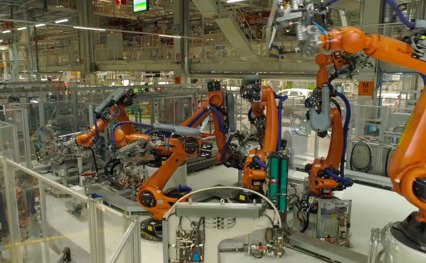 Dancing Robots Now Build Cars And Its Pretty Terrifying Screen Shot