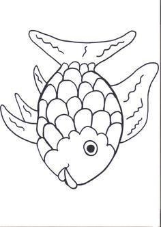 Rainbow Fish Printables August Preschool Themes | Child Care ...