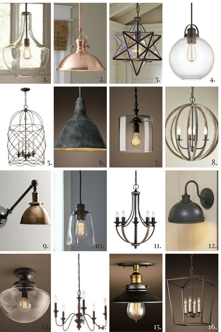 The farmhouse style is making a comeback well it has been for a 16 perfect fixer upper farmhouse style lights for your home arubaitofo Images