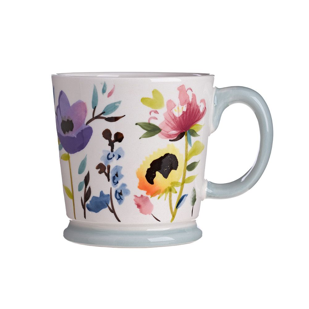 Discover the Bluebellgray Floral Mug at Amara