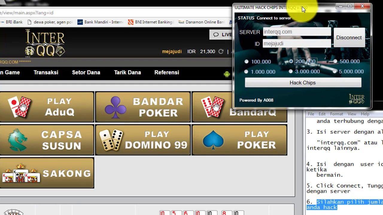 Cara Hack Chip Poker Online Di Interqq Cassino Digital Poquer