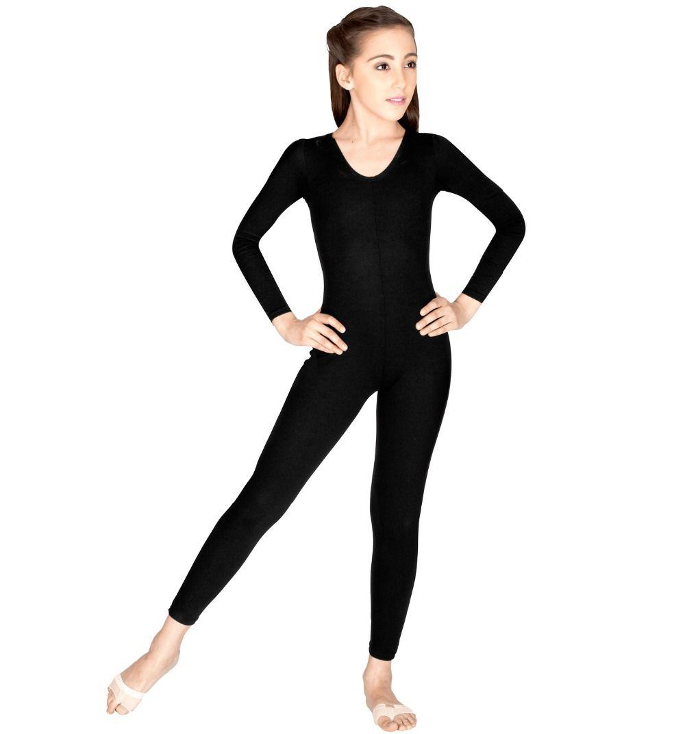 Kids Girls Zentai Ballet Leotards Dance Gymnastics Jumpsuit Unitard Dancewear