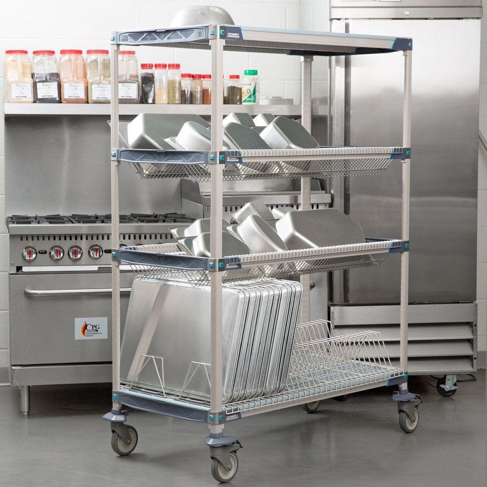 Metro Pr48vx3 Metromax I Mobile 26 X 50 Drying Rack Shelf Kit