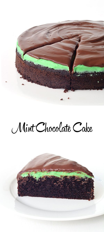 Mint Chocolate Cake Recipe Cakes And Cupcake Recipes Pinterest