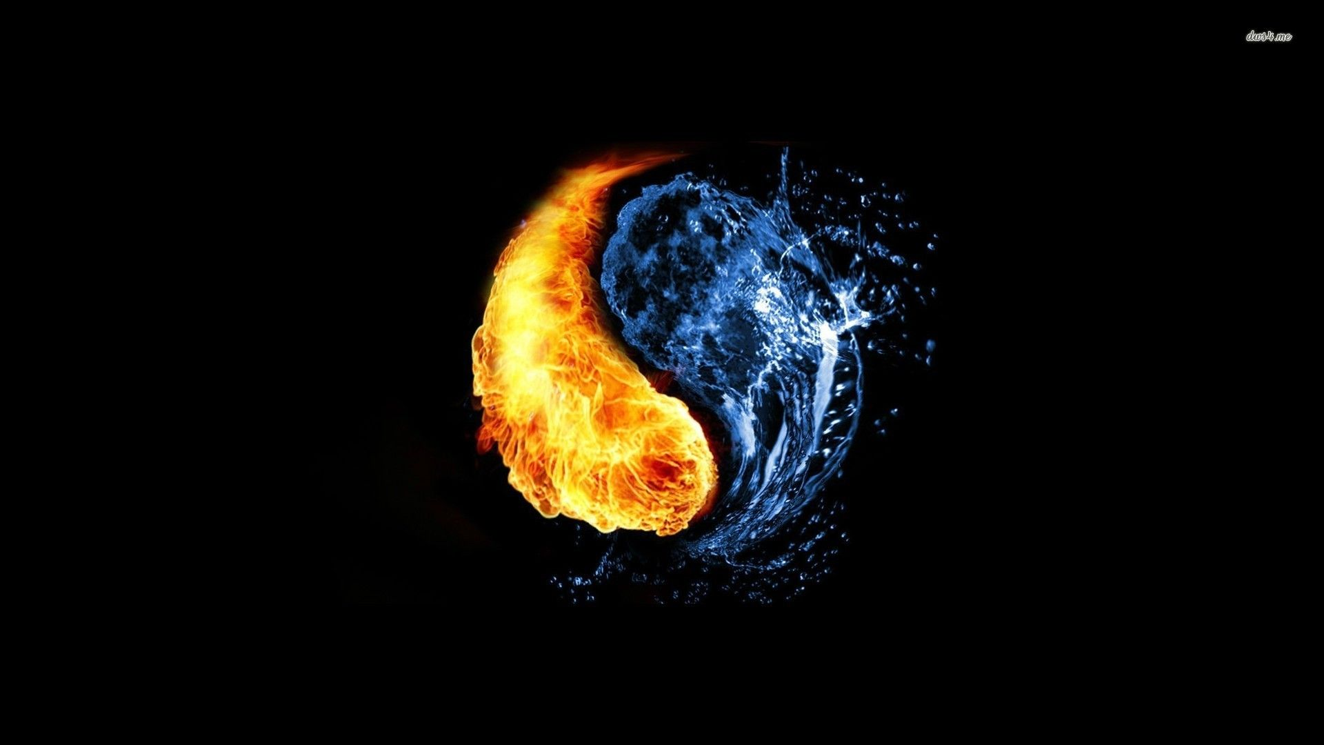 Taijitu fire water taijitu pinterest taijitu fire water biocorpaavc Choice Image