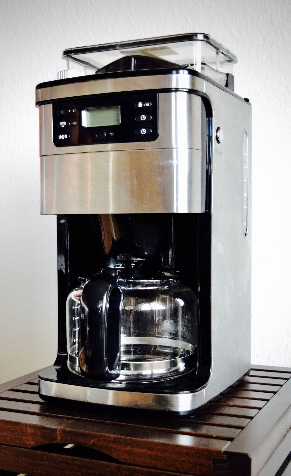 kaffeemaschine mit mahlwerk medion md. Black Bedroom Furniture Sets. Home Design Ideas